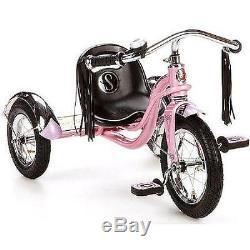 12 Schwinn Roadster Trike Vintage Cruiser Trikes Bikes Pink Kids Low Rider New