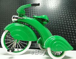 1930 Tricycle Vintage Concept Pedal Car Rare Metal Midget Model -Not Ride On Toy