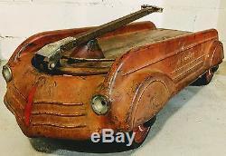 1930's Globe Aero Flite Wagon Original Rare Antique Vintage