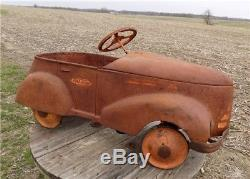 1930s Gendron Fire Chief Pedal Car Retro Childs Pedal Car Ride On Toy vintage