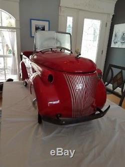1935-36 Skippy Gendron vintage pedal car