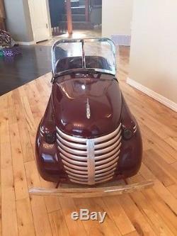 1937 Gendron Skippy Zephyr pedal car vintage restored