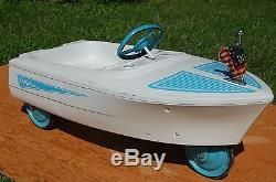 1960's MURRAY PEDAL BOAT- Dolphin-Vintage, Restored with New Graphics