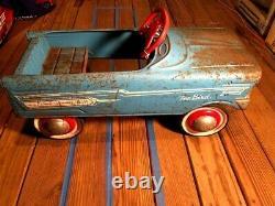 1960s Murray Tee Bird petal car, vintage kids petal car