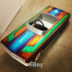 1962 Impala pedal car fiberglass body Vintage lowrider stroller Kustom 1963 1964