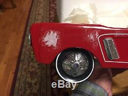1964 Mustang Ford Vintage Pedal Car Metal Collector READ FULL DESCRIPTION PAGE