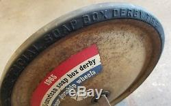 1965 Soap Box Derby Official Wheels And Axles Soapbox Tires Vintage