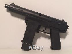 1985 LJN ENTERTECH Vintage Water Hawk Gun Squirt Toy w Magazine Electronic Rambo