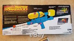 1990 ORIGINAL Super Soaker 100 Pump Water Gun in box Rare Vintage