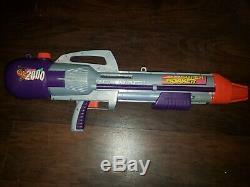 1996 Vintage Larami Super Soaker CPS 2000 RARE Water GUN Pistol Cannon WORKS