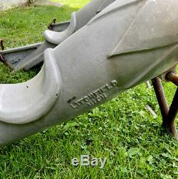 3 Rocket Playground Ride Gametime Saddle Mates Litchfield MI Vintage USAF Nice