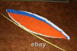 54 SUNKIST Inflatable Beach Ball VINTAGE Glossy Vinyl Pool Toy SUPER RARE