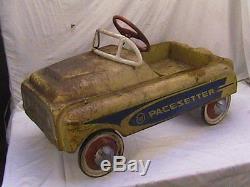 AFM Pacesetter Pedal Car Original Vintage