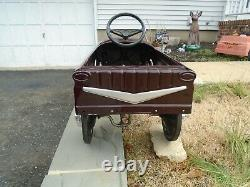 AMF Custom Pedal Car Vintage 1960s