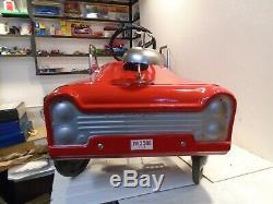AMF Fire Engine Unit No. 508 Vintage 1960s Fire Truck Pedal Car