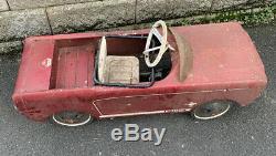 AMF Junior Mustang pedal car Vintage Junior Orginal 1965 1966 Red Ford