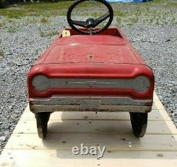 AMF Red Fire Chief Vintage #503 Pedal Car