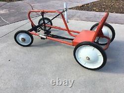 AMF Scat Car Junior Vintage Childs Toy Pedal Car
