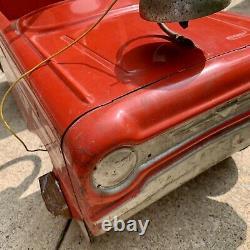 AMF Vintage Fire Chief Pedal Antique Car #503