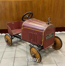 Antique BOYCRAFT WHIPPET Pedal Car All Original Vintage Beauty