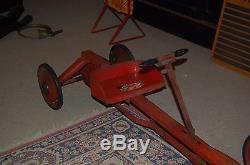 Antique Irish Mail Pedal Car Toy Vintage Toy