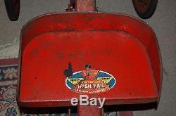 Antique Irish Mail Pedal Car Toy Vintage Toy