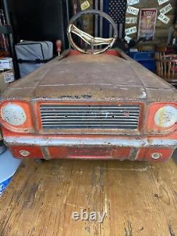 Antique Pedal Car Vintage 1960s Ford Mustang
