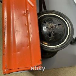 Antique Pedal Car Vintage (Murray) Collectable Toy Burnt Orange 34 Long