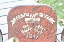 Antique Toy Pedal Car Vintage AMF Junior Scat Car