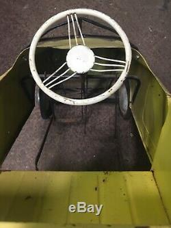 Antique Vintage Thistle Pedal Car, Made In England
