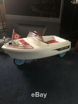 Antique vintage pedal cars (boat) Jolly Roger By Murray 60s 70s