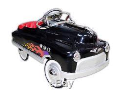 BLACK COMET PEDAL CAR KIDS CHILDS RIDE ON TOY VINTAGE RETRO ANTIQUE STYLE
