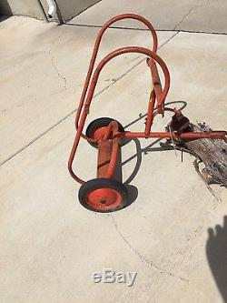 BMC AMF Murray Pedal Car Fire Fighter Trailer Vintage 1950's