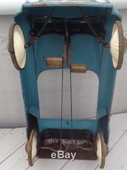 BMC Blue Streak Vintage Pedal Car 1950's