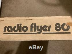BRAND NEW SEALED 1970s Radio Flyer 80 Vintage Wagon Rare