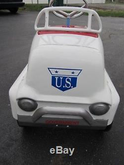 Beautiful 1950's AMF GMC Truck COE Cab Over Pedal Car Vintage US Mail Restored