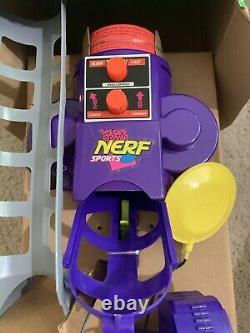 Brand New Vintage Nerf Sports Pitching Machine Remote Control Ultra Rare 1996