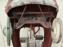 COLLECTORS VINTAGE 1950s SAD FACE MURRAY WAGON PEDAL CARS
