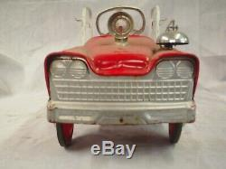 (COLLECTORS) Vintage Murry's 60's Fire Truck Pedal Car