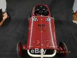 Collectors Vintage Murray Sprint Derby Pedal Cars
