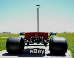 Custom, vintage, hot rod, radio flyer FORMULA C TARGA NOIR GT Indy Coaster Wagon