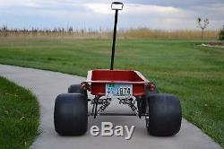Custom, vintage, hot rod, radio flyer, SRT Indy Coaster Wagon