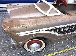Early Murray Dude Wagon Pedal Car Vintage 1960 Very Good Original Condition