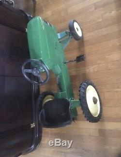 Ertl John Deere A Pedal Tractor Ride On Die Cast Vintage