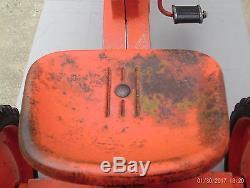 Eska Case 800 Pedal Tractor Case-o-Matic Vintage Rare