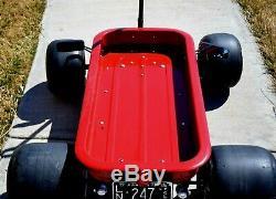 FORMULA C TARGA NOIR GT Indy Coaster Radio Flyer Wagon Custom Vintage