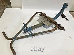 Gametime Saddle Mates Vintage Swing Frame Saddle Seat No Horse Head Ride Chains