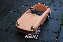Gimca Porsche 911 Targa Vintage Pedal Car 1970-71