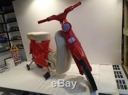 Honda 50 Pedal Motorcycle Vintage 1960s Irwin