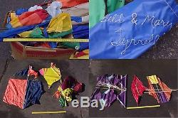 Huge Collection of Vintage Bill Tyrell Kites SE Pa